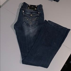 Miss me jeans in excellent condition size 27